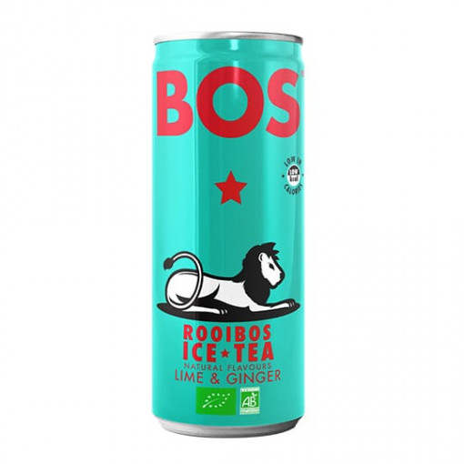 Bos Rooibos Ice Tea Lime & Ginger