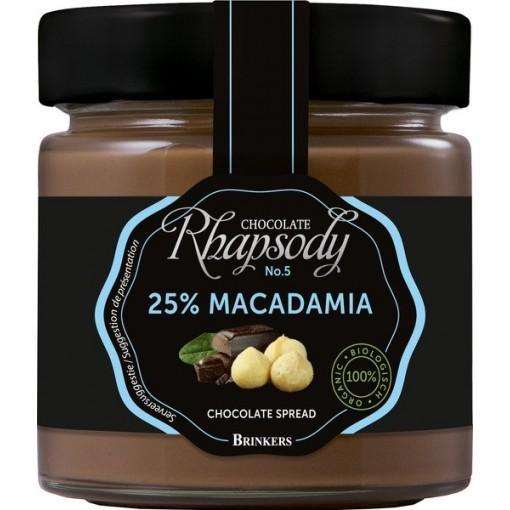 Brinkers Chocoladepasta 25% Macadamia