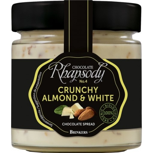 Brinkers Chocoladepasta Crunchy Almond & White