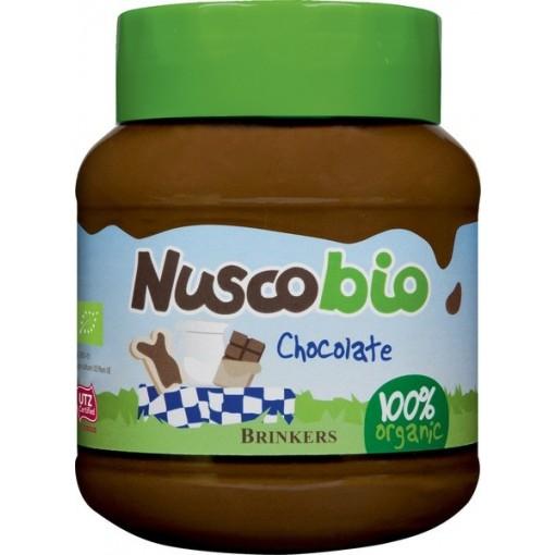 Brinkers Nuscobio Melkchocoladepasta