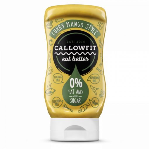 Callowfit Curry Mango Style Sauce