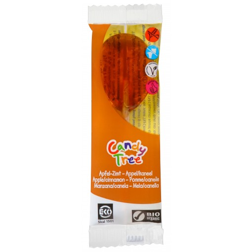 Candy Tree Appel Kaneel Lolly (enkel)