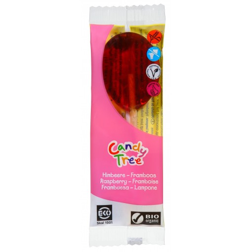 Candy Tree Frambozen Lolly (enkel)