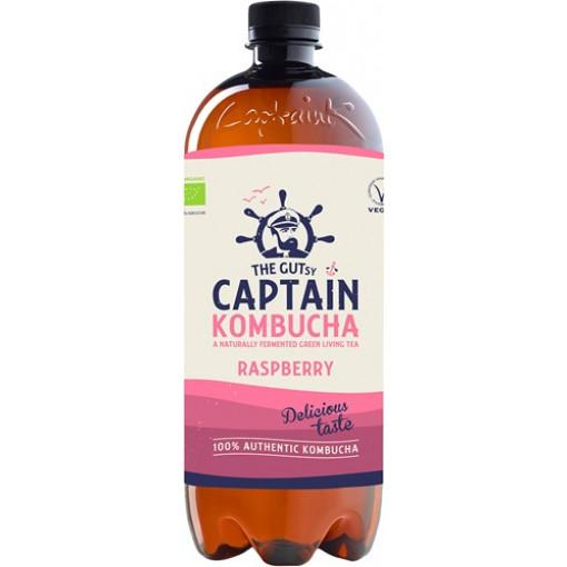 Captain Kombucha Kombucha Raspberry 1 Liter