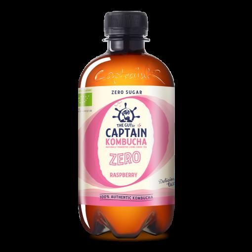Captain Kombucha Kombucha Zero Raspberry