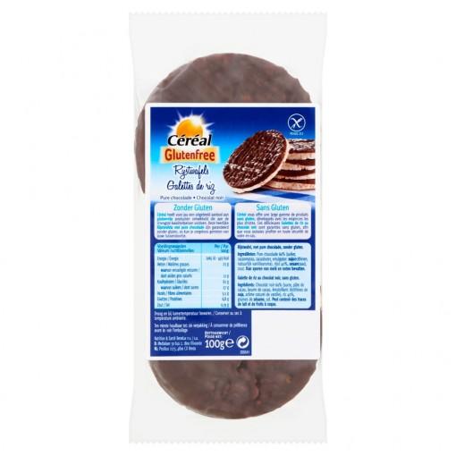 Céréal Rijstwafels Pure Chocolade