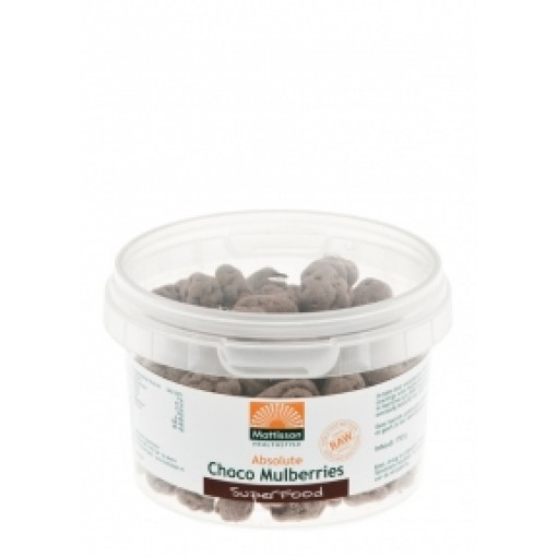 Mattisson Choco Mulberries 150 gram