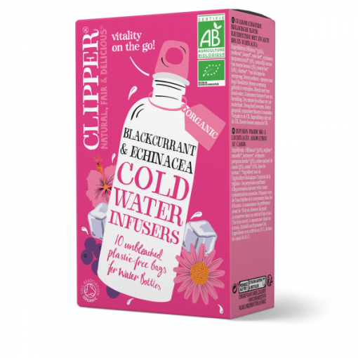 Clipper Cold Water Infusers Zwarte Bes & Echinacea
