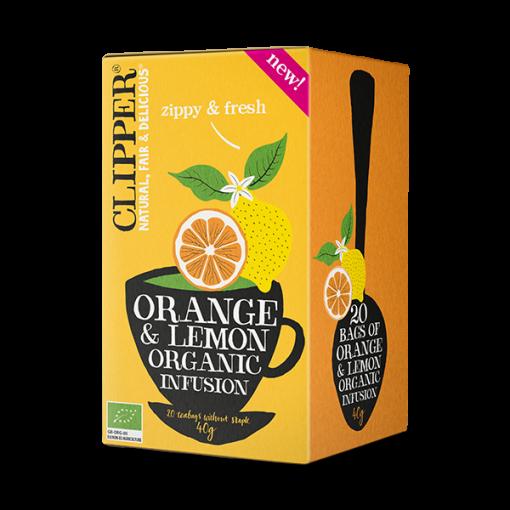 Clipper Orange & Lemon Tea