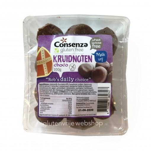 Consenza Chocolade Kruidnoten Lactosevrij