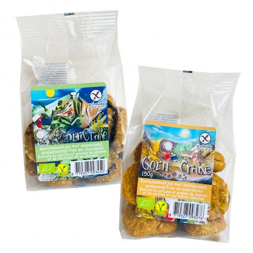 Corn Crake Koekjes Proefpakket (2 soorten)
