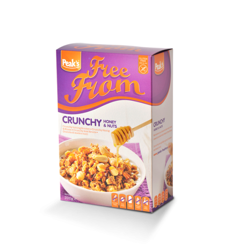 Peak's Crunchy Honing & Noten