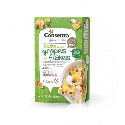 Consenza Cornflakes Druiven-Noten (T.H.T. 24-09-20)