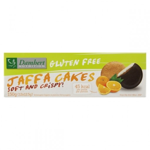 Damhert Jaffa Cakes Met Sinaasappelvulling
