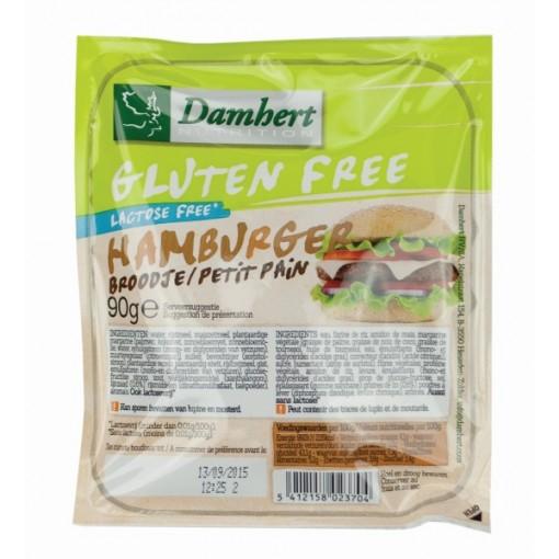 Damhert Hamburger Broodje (T.H.T. 14-11-2019)