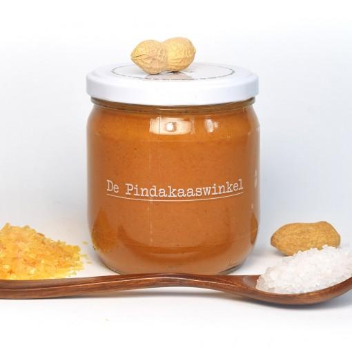 De Pindakaaswinkel Pindakaas Karamel Zeezout