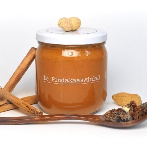 De Pindakaaswinkel Pindakaas Dadel Kaneel