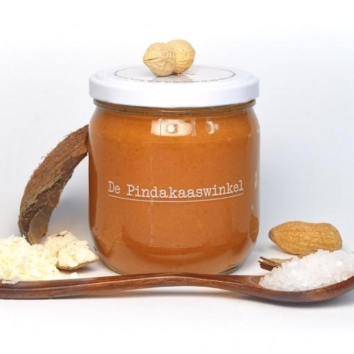 De Pindakaaswinkel Pindakaas Kokos Zeezout
