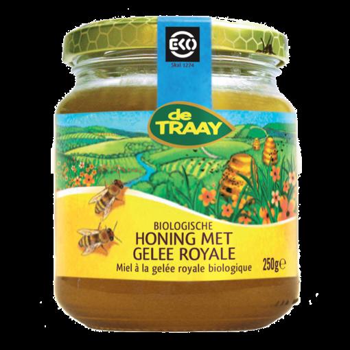 De Traay Honing met Gelee Royale Biologisch