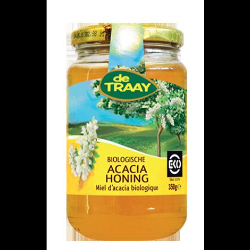 De Traay Acacia Honing Biologisch 350 gram