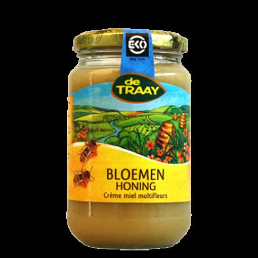 De Traay Bloemen Crème Honing Biologisch 900 gram
