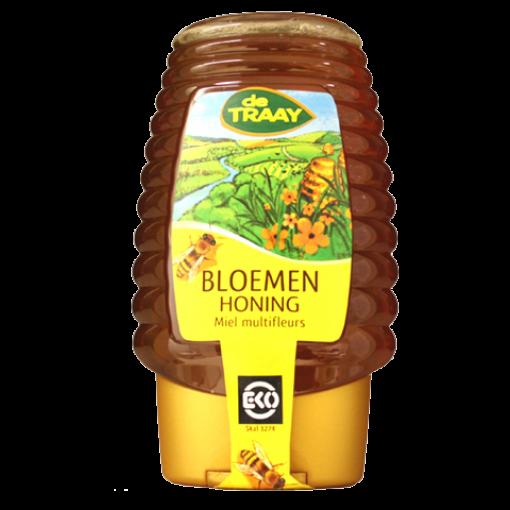De Traay Bloemen Honing Biologisch (knijpfles)