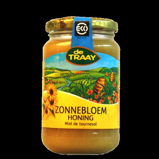 Zonnebloem Honing Biologisch 450 gram