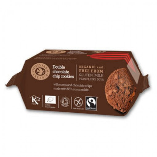 Doves Farm Double Chocolate Cookies