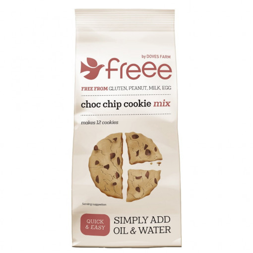 Doves Farm Choco Chip Cookie Mix (T.H.T. 26-08-21)