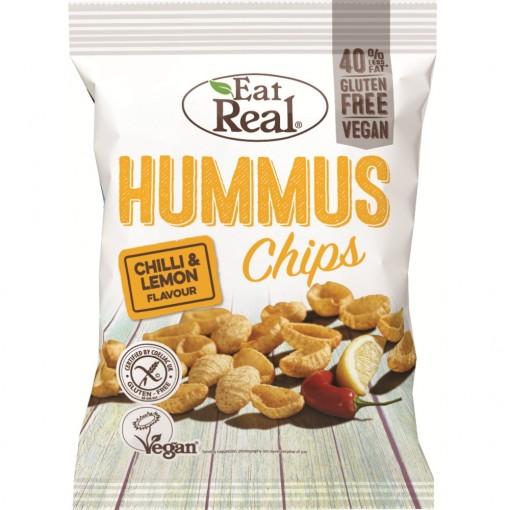 Eat Real Hummus Chips Chilli & Lemon
