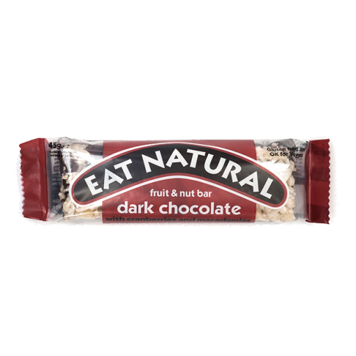 Dark Chocolate With Cranberries And Macadamias Bar