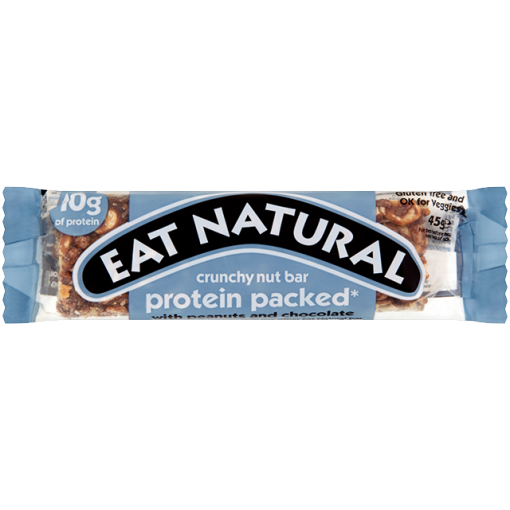 Protein Packed With Peanuts And Chocolate Bar