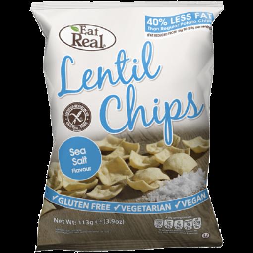 Eat Real Linzen Chips Zeezout