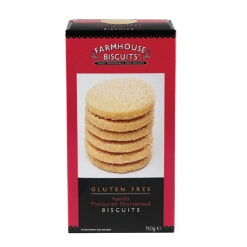 Farmhouse Biscuits Vanilla Flavoured Shortbread Biscuits
