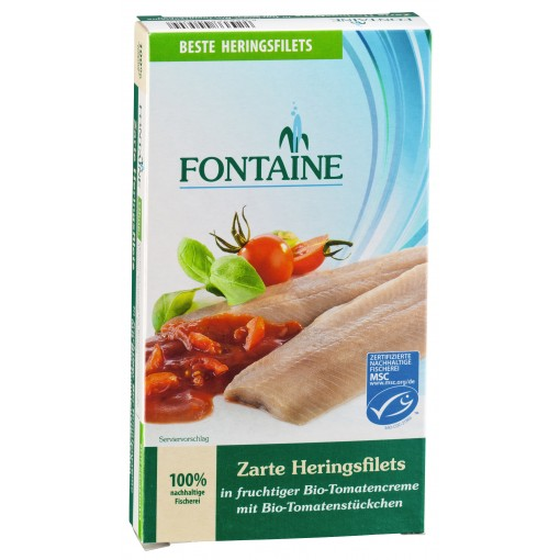 Fontaine Haringfilet In Tomatensaus