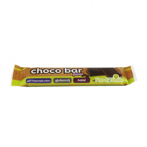 Food2Smile Choco Bar Puur