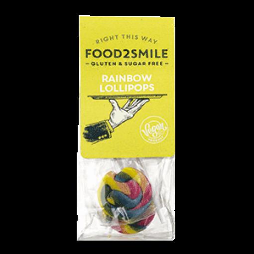 Food2Smile Rainbow Lollipops