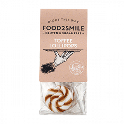 Food2Smile Toffee Lollipops