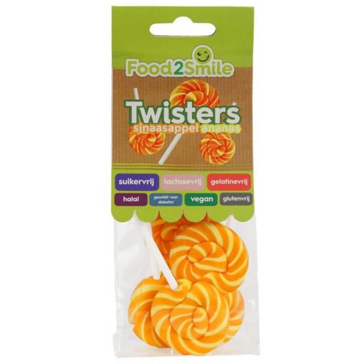 Food2Smile Twisters Sinaasappel Ananas