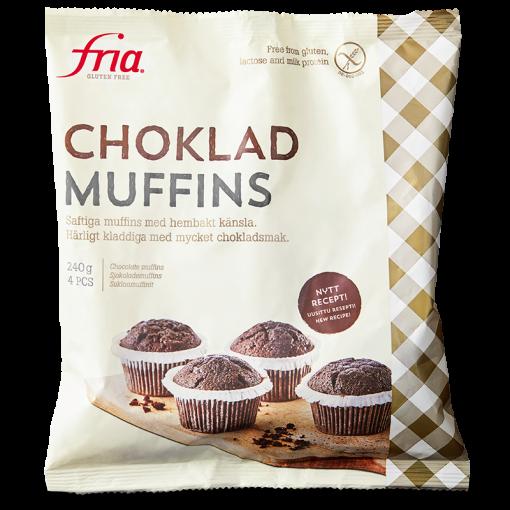 Fria Muffins Chocolade