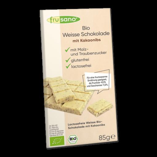 Frusano Chocolade Tablet Wit Lactosevrij