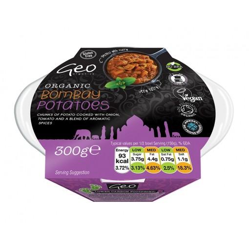 Geo Organics Bombay Potatoes Opwarmmaaltijd