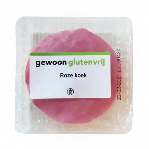Gewoon Glutenvrij Roze Koek