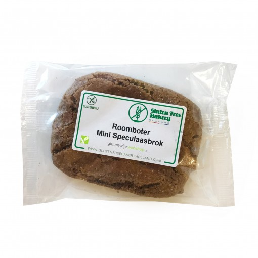 Gluten Free Bakery Holland Roomboter Mini Speculaasbrok