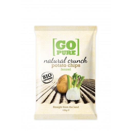 GoPure Natural Crunch Potato Chips Fennel