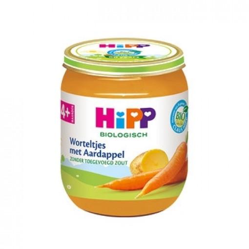 HiPP Worteltjes Met Aardappel 4+ Maanden