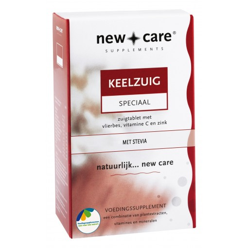 New Care Keelzuig 24 Tabletten