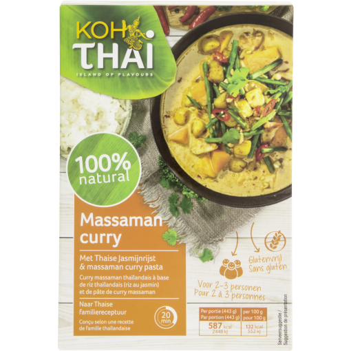 Koh Thai Massaman Curry Maaltijdpakket