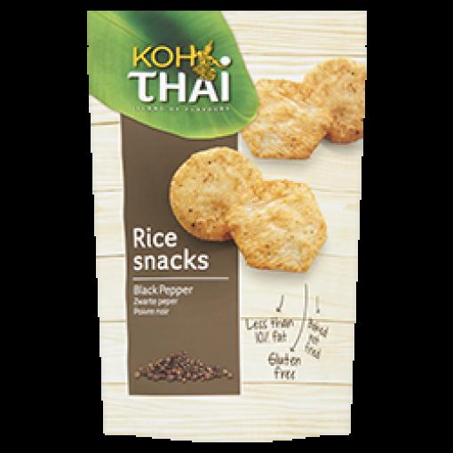 Koh Thai Rijstsnacks Black Pepper