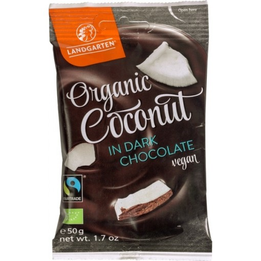Landgarten Coconut In Dark Chocolate